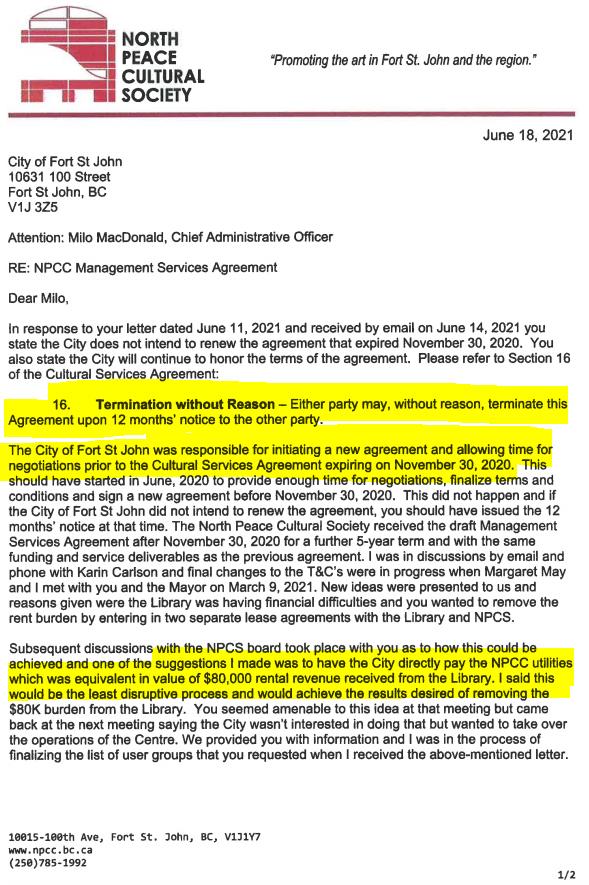 NPCC response1