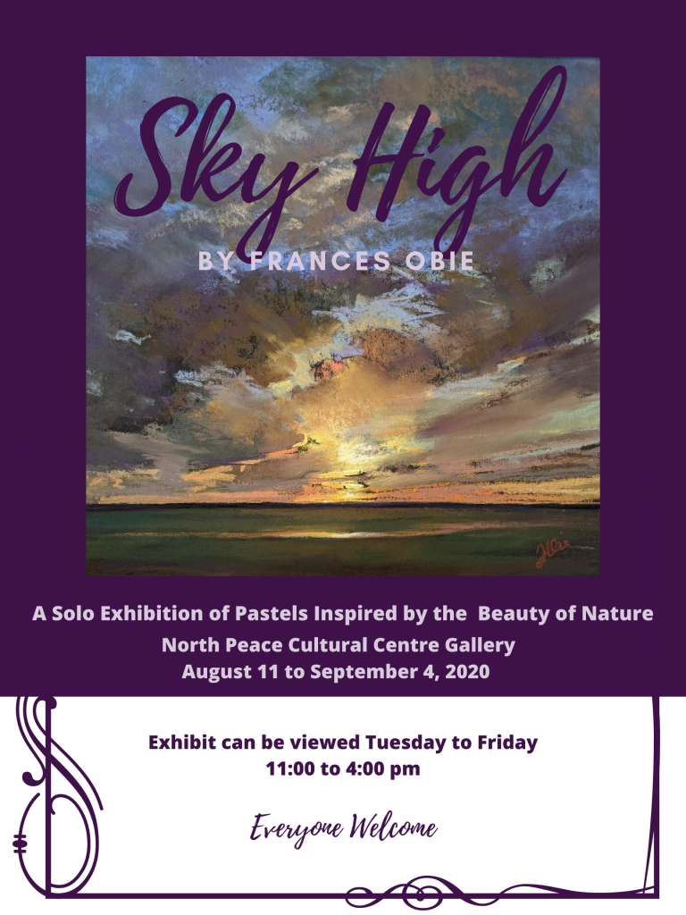 Virtual Exhibit: Frances Obie, Sky High