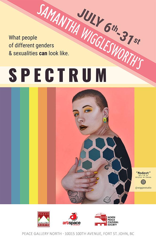 Spectrum – Samantha Wigglesworth – July 6th to July 31st